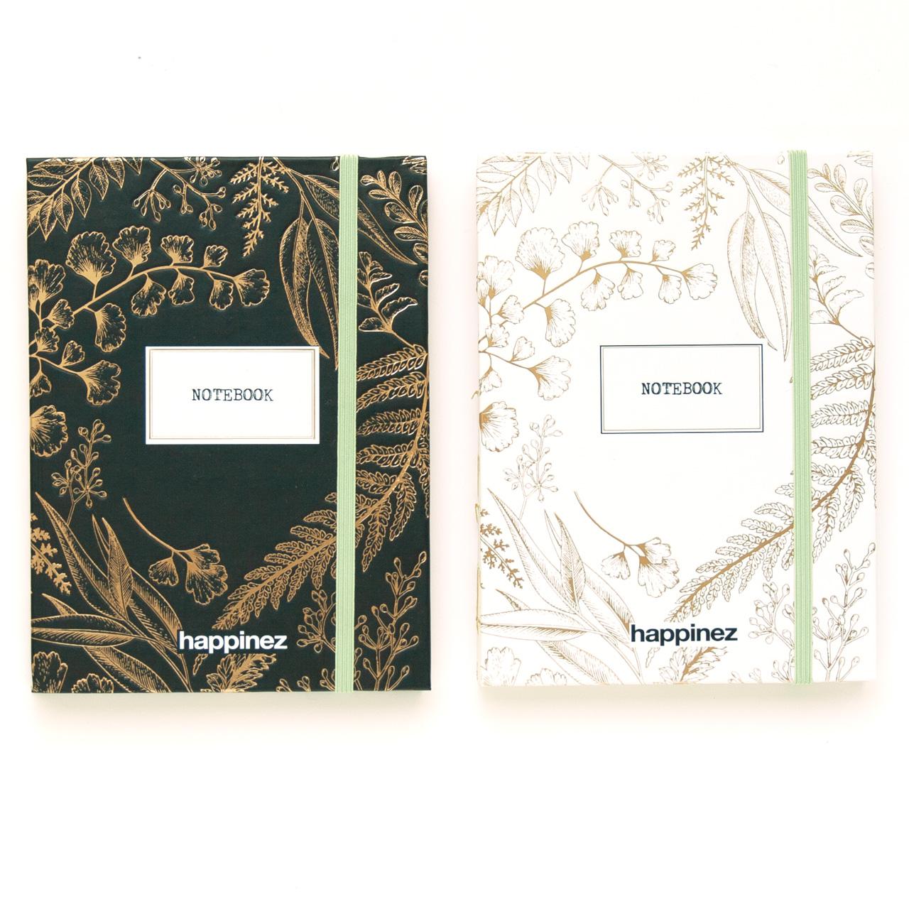 notebooks botanical