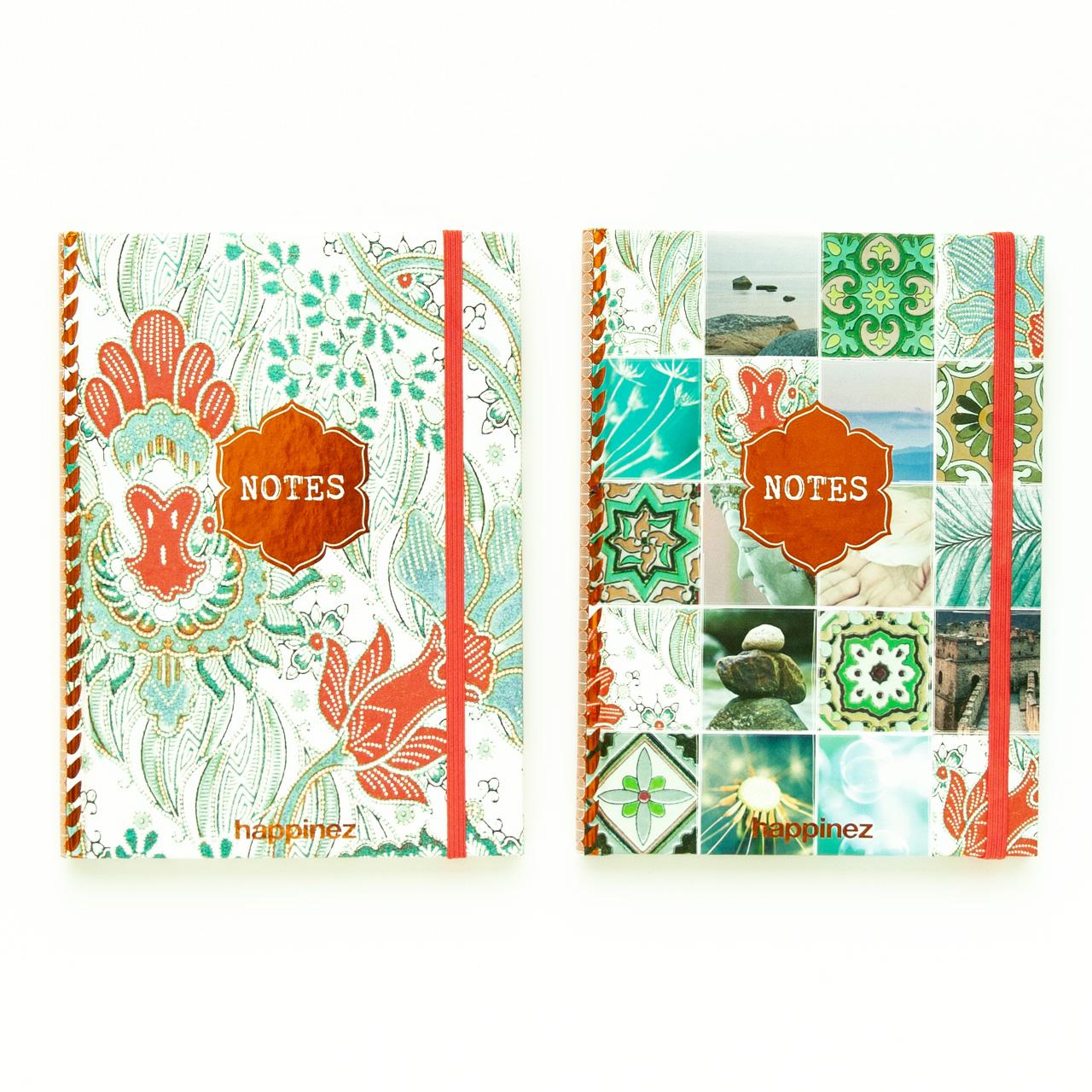 notebook multicolour